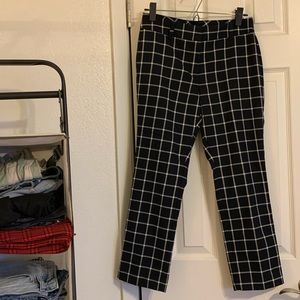 Ann Taylor Signature Pant in plaid